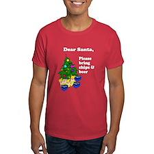 Santa Bring Chips & Beer T-Shirt