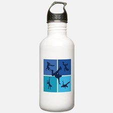 Nice various breakdancing Sports Water Bottle