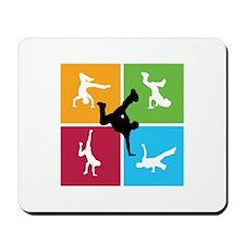 Nice various breakdancing Mousepad