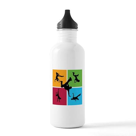 Nice various breakdancing Stainless Water Bottle 1