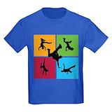 Breakdance Kids T-shirts (Dark)