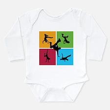 Nice various breakdancing Long Sleeve Infant Bodys