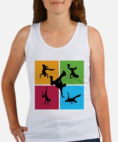 Nice various breakdancing Women's Tank Top