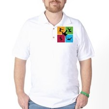 Nice various breakdancing T-Shirt
