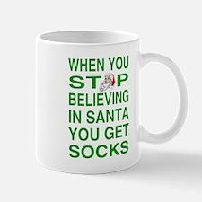 Santa Brings Socks Mug