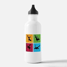 Nice various breakdancing Water Bottle