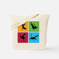 Nice various breakdancing Tote Bag