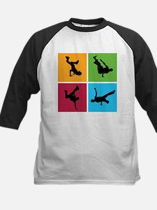 Nice various breakdancing Kids Baseball Jersey