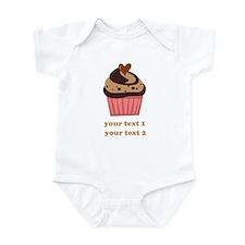 PERSONALIZE Chocolate Cupcake Onesie