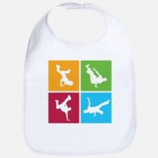 Nice various breakdancing Bib