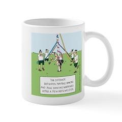 Maypole Dancing Mug
