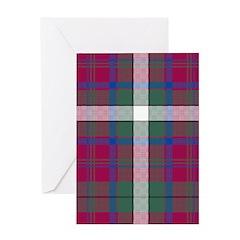 Tartan - MacGuire Greeting Card