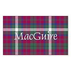 Tartan - MacGuire Decal