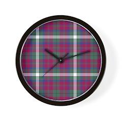 Tartan - MacGuire Wall Clock