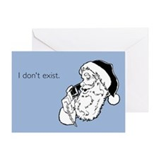 I Don't Exist Greeting Card