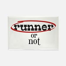 Runner! or not Rectangle Magnet