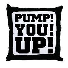 Pump! You! Up! Weightlifting SNL Throw Pillow