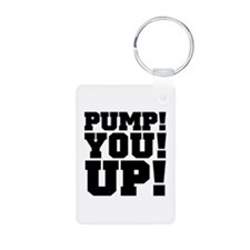 Pump! You! Up! Weightlifting SNL Keychains