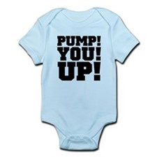 Pump! You! Up! Weightlifting SNL Infant Bodysuit