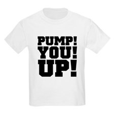 Pump! You! Up! Weightlifting SNL T-Shirt