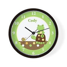 Laguna Frog and Turtle Wall Clock - Cody