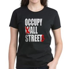 Occupy Graffiti Logo Tee