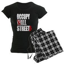 Occupy Graffiti Logo Pajamas