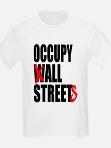 Occupy Graffiti Logo T-Shirt