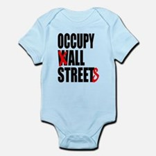 Occupy Graffiti Logo Infant Bodysuit