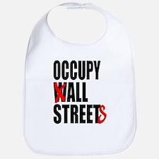 Occupy Graffiti Logo Bib