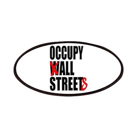 Occupy Graffiti Logo Patches