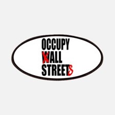 Occupy Graffiti Logo Patches