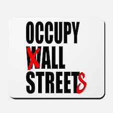 Occupy Graffiti Logo Mousepad