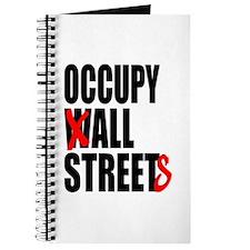 Occupy Graffiti Logo Journal