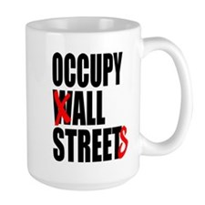 Occupy Graffiti Logo Mug