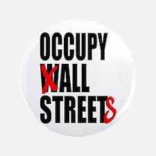 """Occupy Graffiti Logo 3.5"""" Button"""