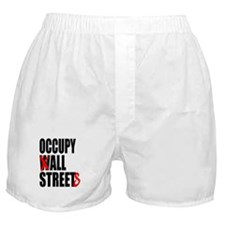 Occupy Graffiti Logo Boxer Shorts