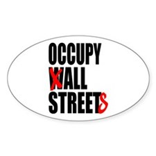 Occupy Graffiti Logo Decal