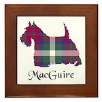 Terrier - MacGuire Framed Tile