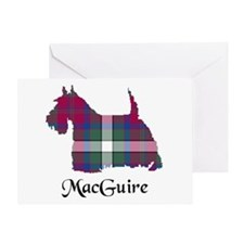 Terrier - MacGuire Greeting Card