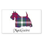 Terrier - MacGuire Sticker (Rectangle 10 pk)