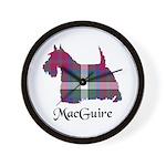 Terrier - MacGuire Wall Clock
