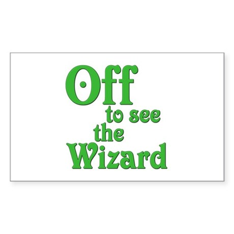 Off To See The Wizard The Wizard of Oz Sticker (Re