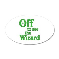 Off To See The Wizard The Wizard of Oz 22x14 Oval