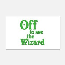 Off To See The Wizard The Wizard of Oz Car Magnet