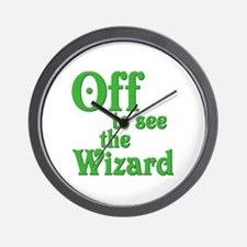 Off To See The Wizard The Wizard of Oz Wall Clock