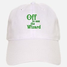 Off To See The Wizard The Wizard of Oz Baseball Baseball Cap