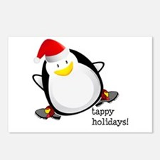 Tappy Holidays! by DanceShirts.com Postcards (Pack
