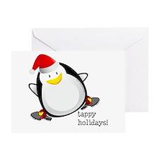 Tappy Holidays! by DanceShirts.com Greeting Card