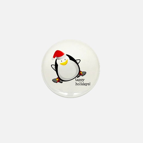 Tappy Holidays! by DanceShirts.com Mini Button
